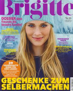Brigitte Magazine: Beauty's Shining Star