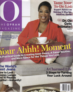 O Magazine: Five Questions for Marie Robinson