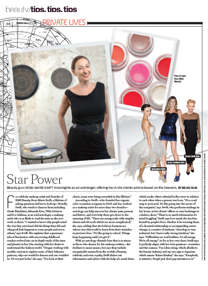 november 2013 beauty inc featuring interview with rms beauty founder rose-marie swift