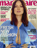 April 2013 Marie Claire Magazine featuring RMS Beauty Un Cover-Up