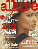 october 2013 allure magazine featuring rms beauty lip2cheek diabolique and miranda kerr