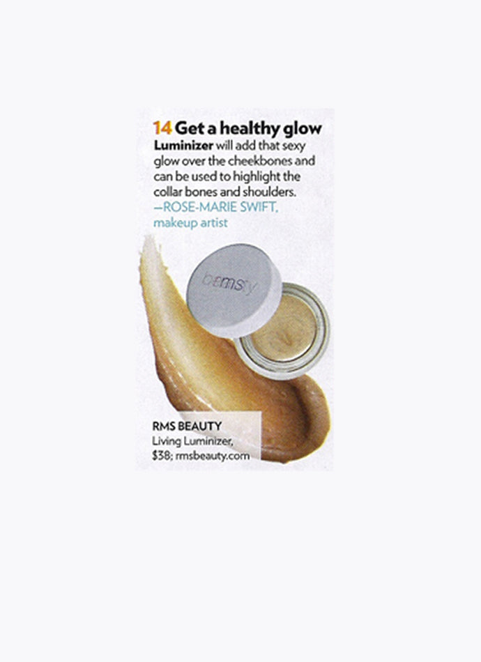june 2013 people magazine rms beauty organic makeup living luminizer highlighter