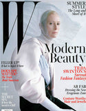 may 2013 w magazine featuring rms beauty living luminizer