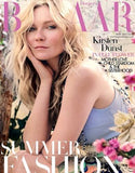 april 2014 harper's bazaar magazine featuring rms beauty lip2cheek in demure