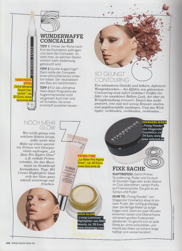 march 2015 couch magazine germany rms beauty organic makeup