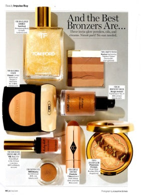 june 2015 glamour magazine featuring rms beauty buriti bronzer