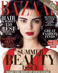 HARPER'S BAZAAR MAY 2017 FEATURING RMS BEAUTY UN COVER UP