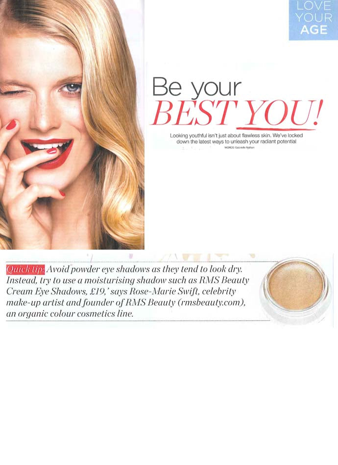 march 2014 health & fitness magazine featuring rms beauty eye polish