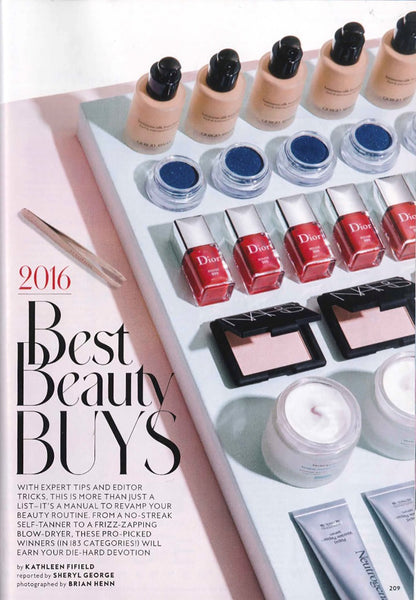 May 2016 Instyle Magazine featuring RMS Beauty