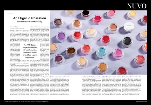 spring nuvo magazine canada rms beauty organic magazine