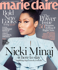 November 2016 Marie Claire Magazine featuring RMS Beauty