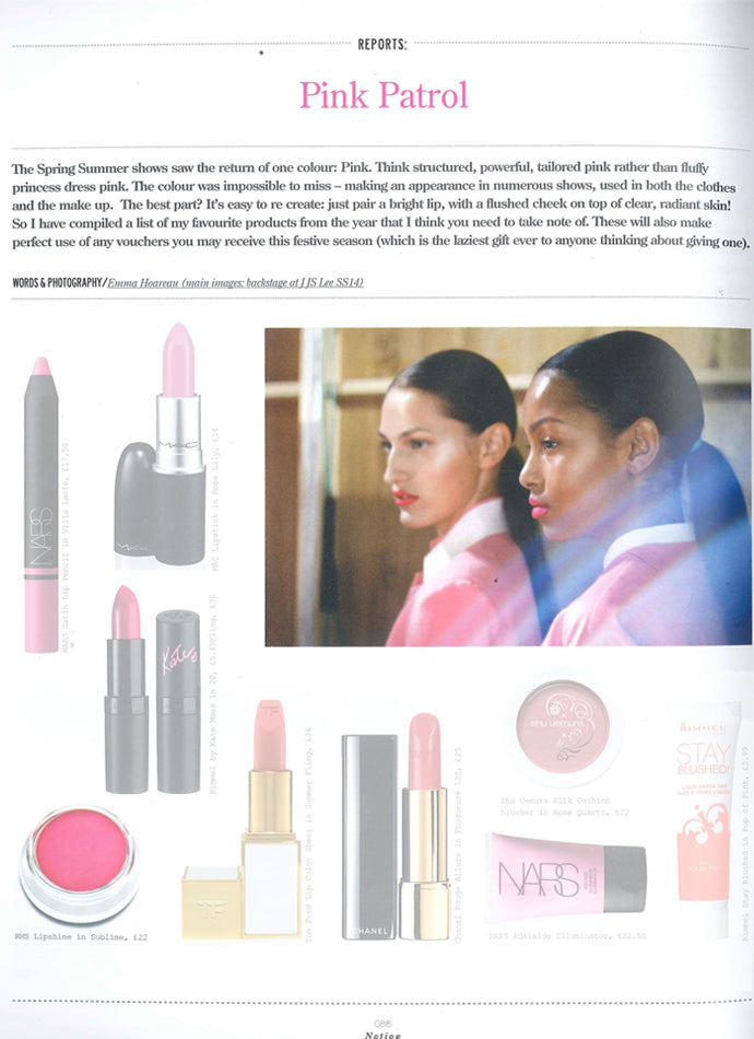 spring 2014 notion magazine rms beauty organic makeup