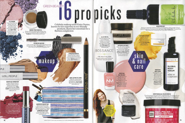October 2016 People Magazine featuring RMS Beauty Buriti Bronzer