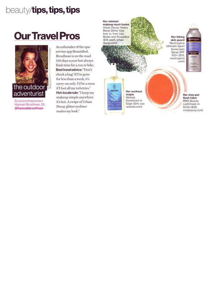 jury 2013 glamour magazine featuring rms beauty lip2cheek in smile