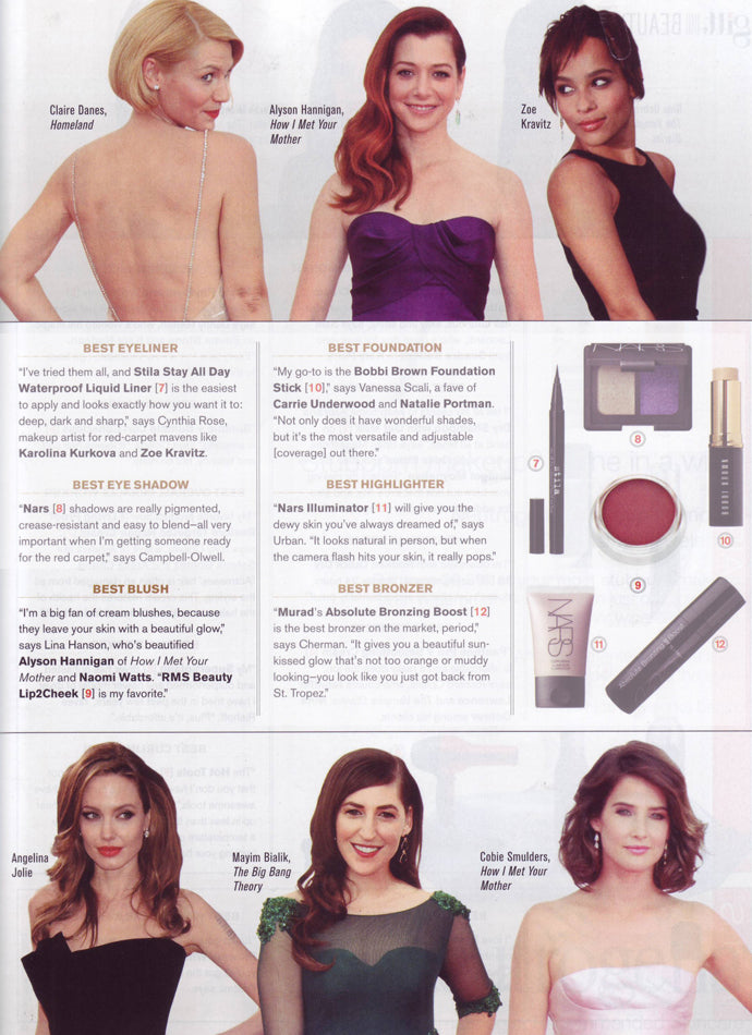 february 2014 watch magazine featuring rms beauty lip2cheek