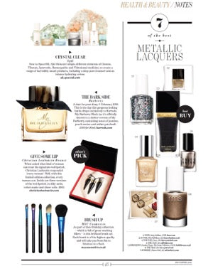 december 2015 absolutely west featuring rms beauty nail polish in myth