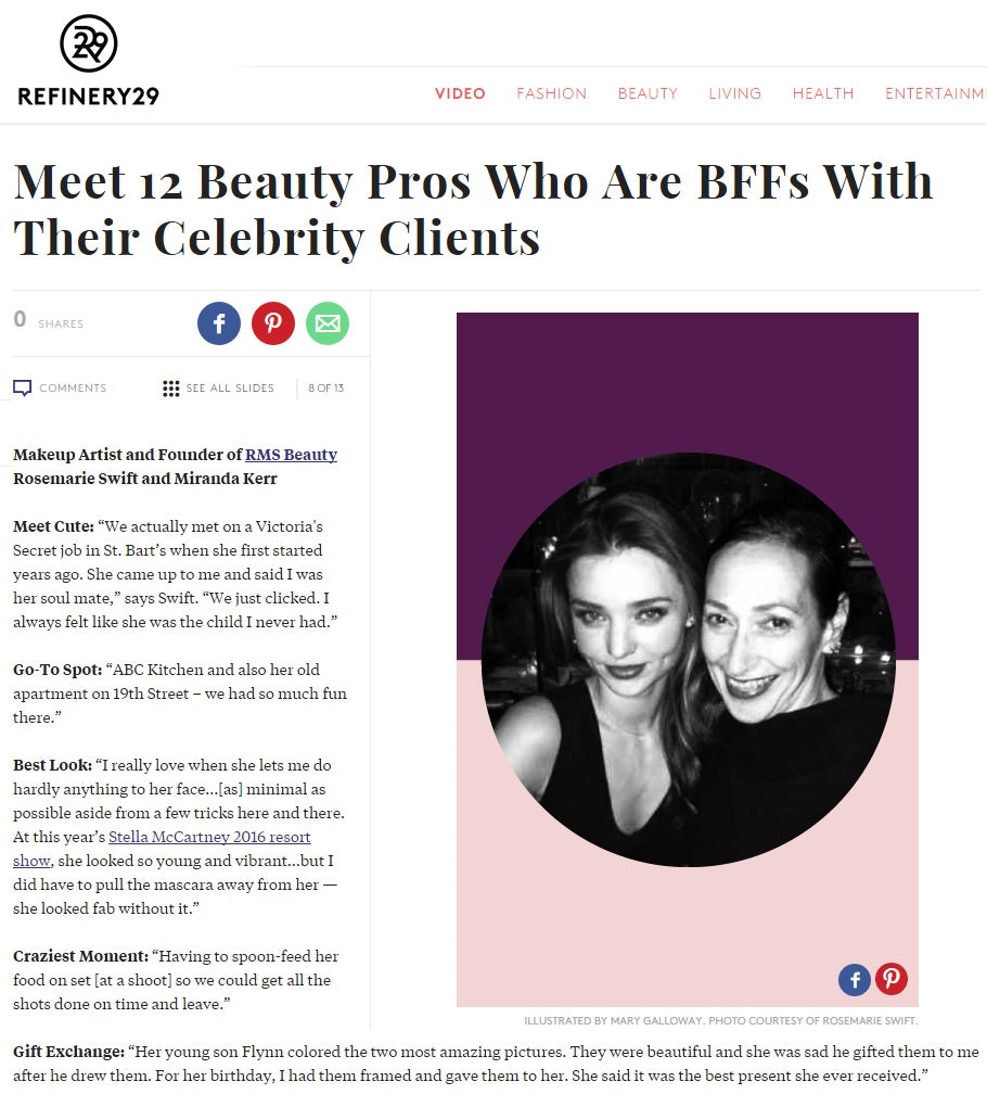 refinery29 featuring rose-maria swift and miranda kerr