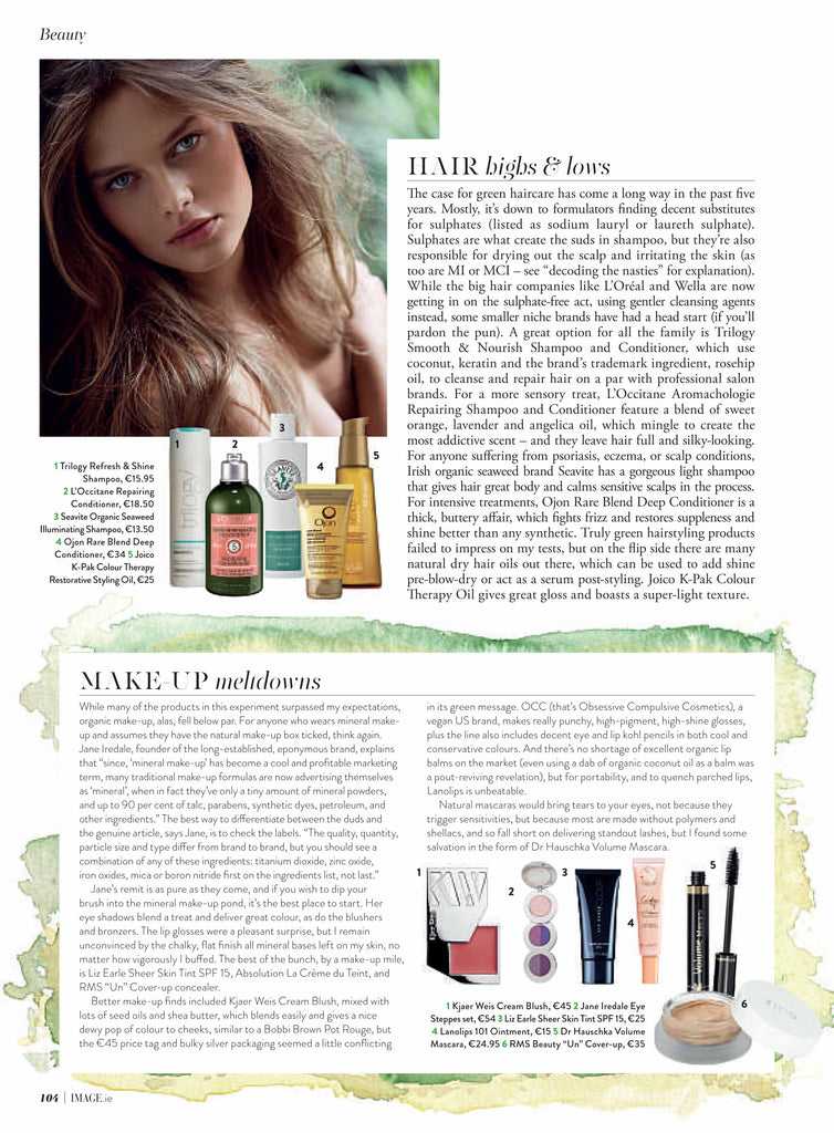 october 2014 image magazine featuring rms beauty un cover up