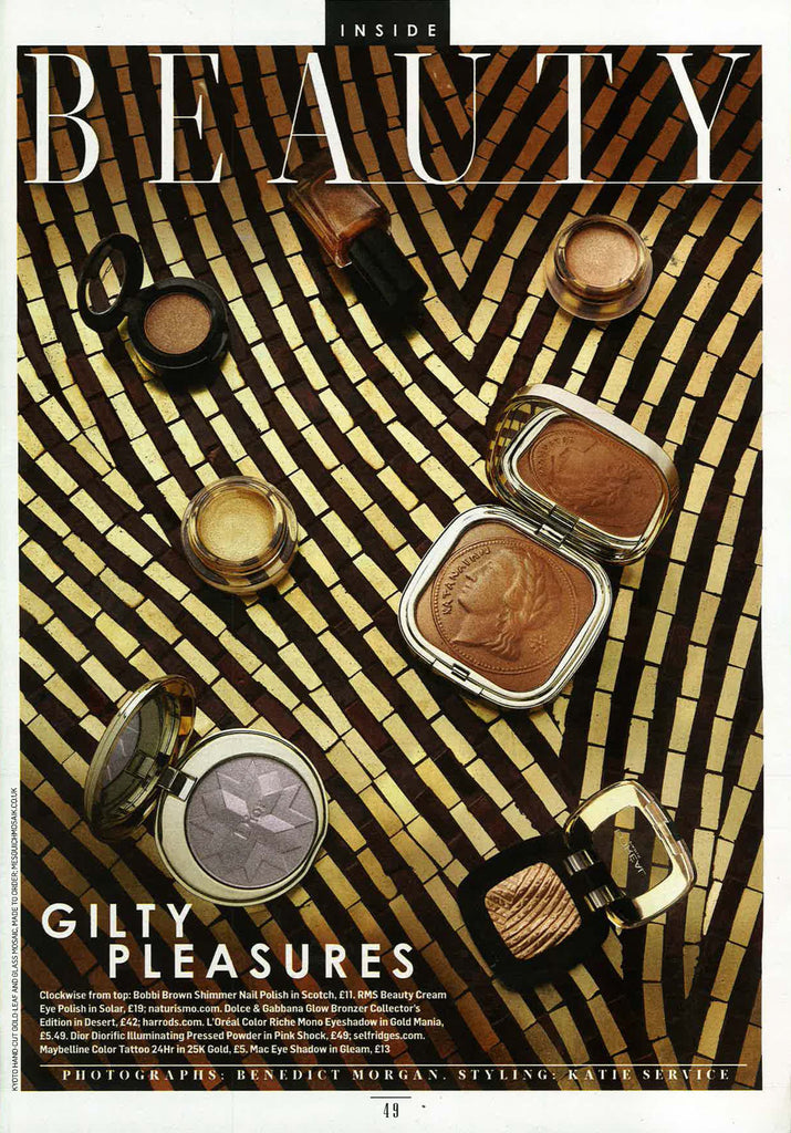 sunday times style december 2014 featuring rms beauty eye polish in solar