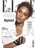 April 2016 Elle UK featuring RMS Beauty