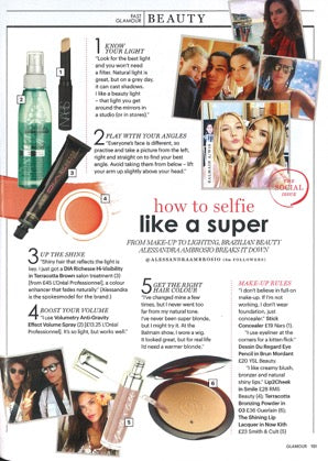 RMS Beauty Lip2Cheek Smile featured in Glamour UK