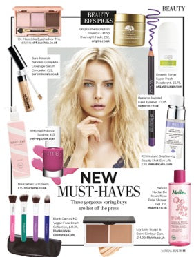 march 2016 natural health magazine featuring rms beauty nail polish in sublime
