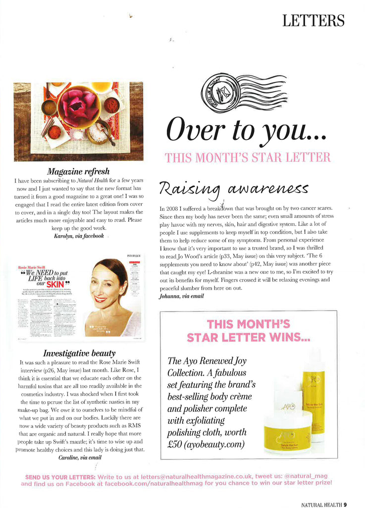 april 2013 vogue uk rms beauty organic makeup