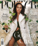 summer 2015 porter magazine featuring rms beauty skin2skin foundation brush