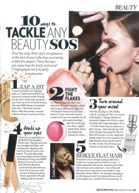 "december 2015 red magazine featuring rms beauty ""un"" powder"