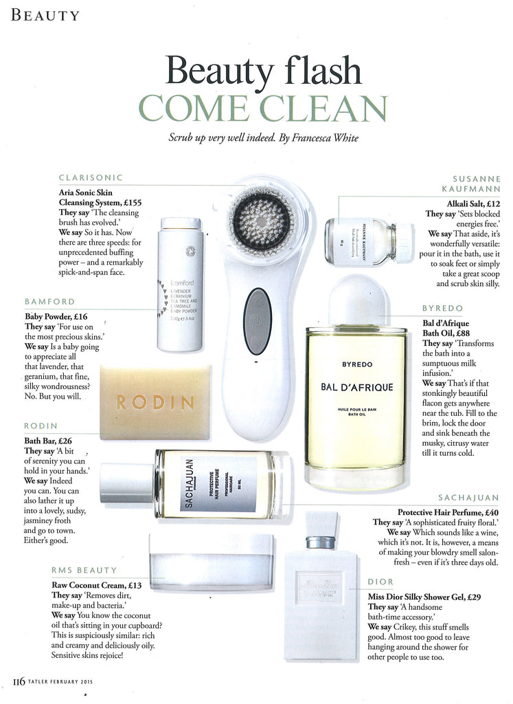 tatler magazine uk december 2014 featuring rms beauty raw coconut cream