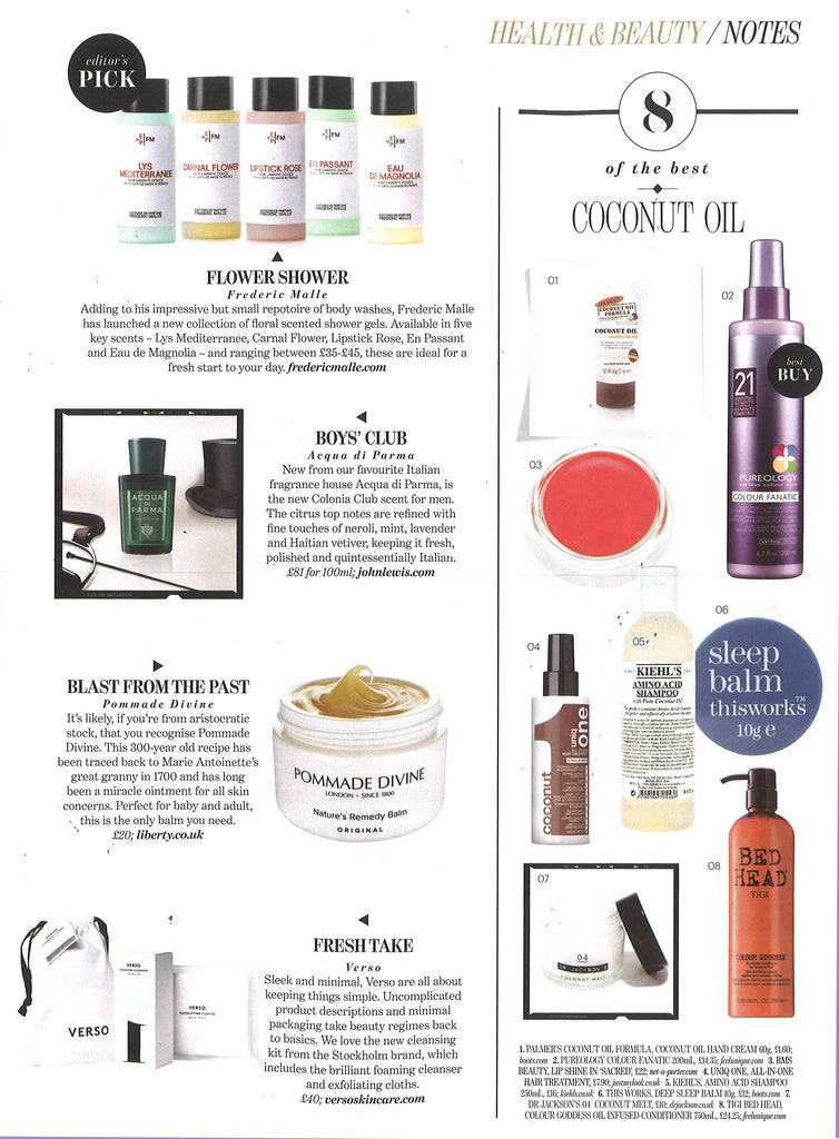 september 2015 absolutely magazine featuring rms beauty lip shine in sacred