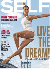 December 2016 Self Magazine featuring RMS Beauty