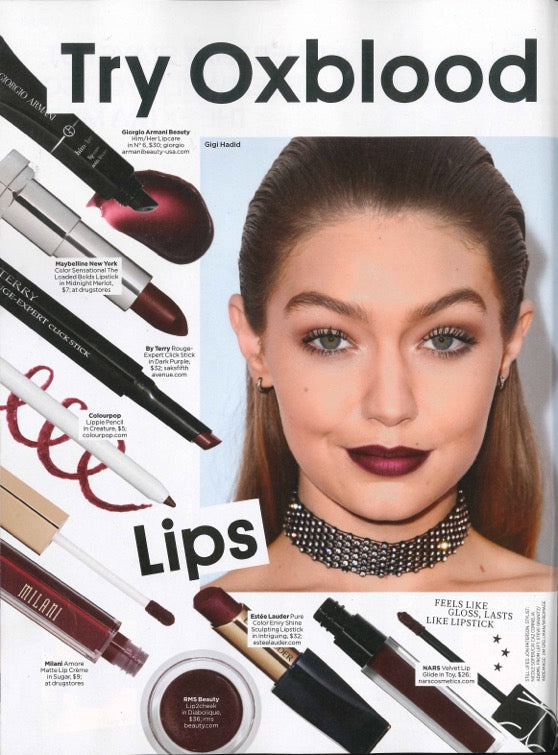 November 2016 People Style Watch featuring RMS Beauty