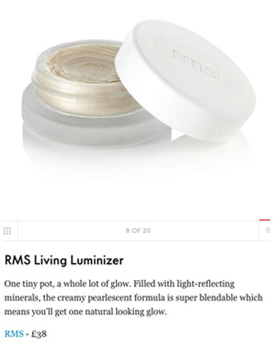 JUNE 2017 ELLE featuring RMS Living Luminizer