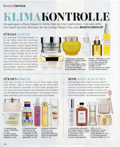 february 2013 instyle germany featuring rms beauty oil