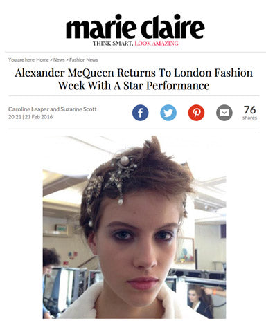 rms beauty eye polish karma featured in alexander mcqueen london fashion week show