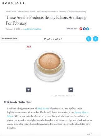february 2016 pop sugar featuring rms beauty master mixer