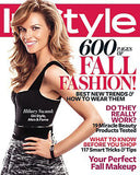 september 2010 instyle magazine featuring rms beauty instyle magazine