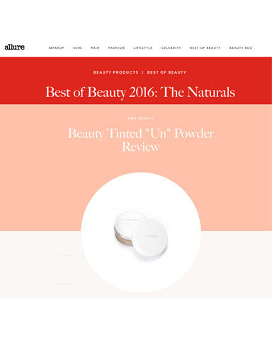 September 2016 Allure Best of Beauty Winner RMS Beauty Tinted Un Powder
