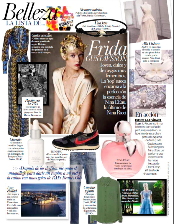march 2013 vogue spain featuring rms beauty oil