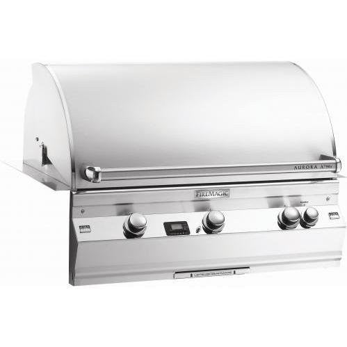 Fire Magic Aurora A790i Built In NG Grill w/ Rotisserie Backburner - Outdoor Patio Supply