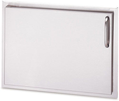 "American Outdoor Grill 1724SSDL 24"" Stainless Steel Single Access Door: Left - Outdoor Patio Supply"