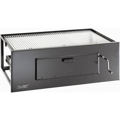 Fire Magic 3339 Lift-a-fire Slide-in Built In Charcoal Grill (23 x 16) - Outdoor Patio Supply