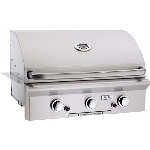 American Outdoor Grill 30 Inch Built-in Propane Gas Grill - Outdoor Patio Supply