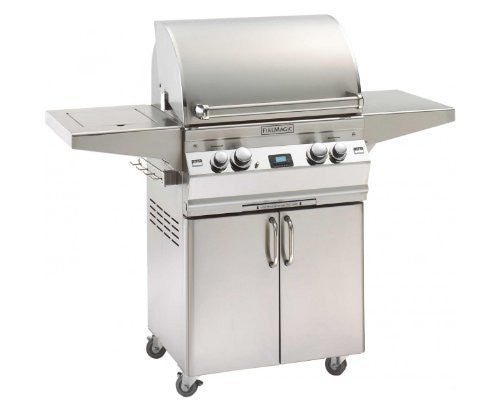 Fire Magic Aurora A430s Stand Alone Grill with Single Side Burner - Outdoor Patio Supply