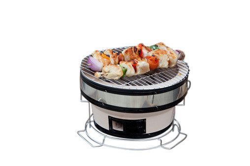 Fire Sense 60449 Small Yakatori Portable Charcoal Grill - Outdoor Patio Supply