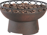 Bond 66643 Cosentino Steel Gas Firebowl - Outdoor Patio Supply