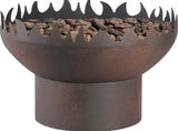 Bond 66646 Jericho Steel Gas Firebowl - Outdoor Patio Supply - 1