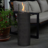 Bond 67316 Piazza Gas Fire Column w/ Design Antique Bronze - Outdoor Patio Supply - 2