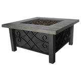 Bond 67531 Marbella Steel Gas Firebowl - Outdoor Patio Supply